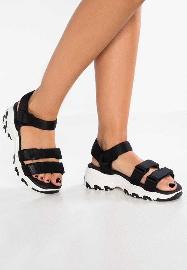D'LITES - Chodecké sandály - black