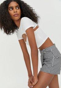 PULL&BEAR - T-shirt print - white - 3