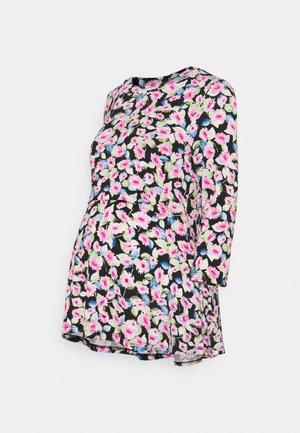 MLSARI JUNE  - Maglietta a manica lunga - black/pink