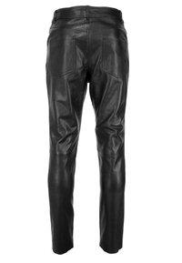 JCC - Leather trousers - braun - 2