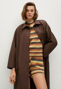 Mango - Classic coat - marron - 2