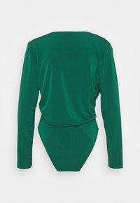 Trendyol - Long sleeved top - emerald green - 1