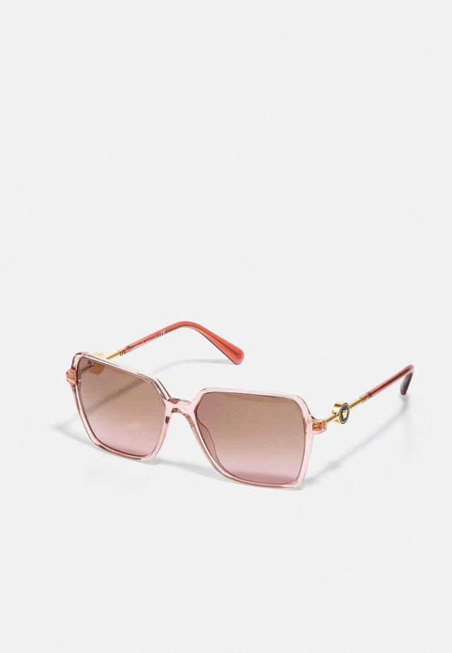 Sonnenbrille - transparent pink