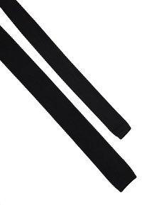 Twisted Tailor - JAGGER TIE - Kravata - black - 2