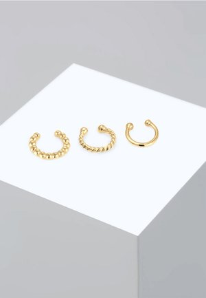 SET - Earrings - gold-coloured