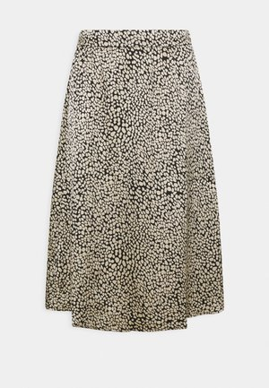 KATINKA SKIRT - A-Linien-Rock - black/beige