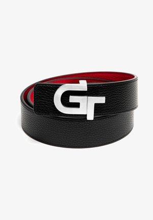 Belt - schwarz rot