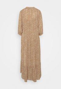 Selected Femme - SLFFRAJA MADISON ANKLE DRESS E - Denní šaty - glazed ginger - 1