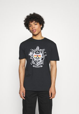 MADE OF BONES - T-shirt con stampa - black