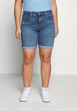 SHAPING BERMUDA - Shorts di jeans - paris rain plus