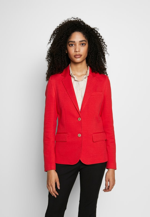 SLIM - Blazer - bright red