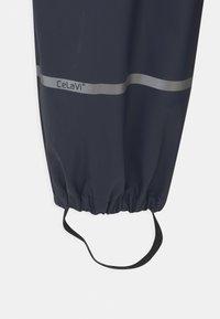 CeLaVi - BASIC RAIN UNISEX - Rain trousers - dark navy - 2