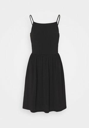 VMILANE SINGLET SHORT DRESS - Žerzejové šaty - black