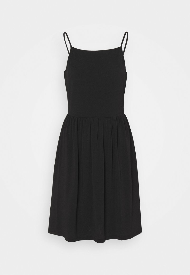 Vero Moda - VMILANE SINGLET SHORT DRESS - Jerseykjole - black