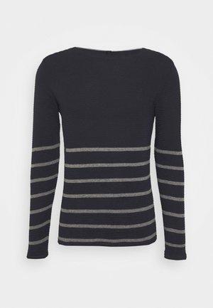 GIROCOLLO - Stickad tröja - blue