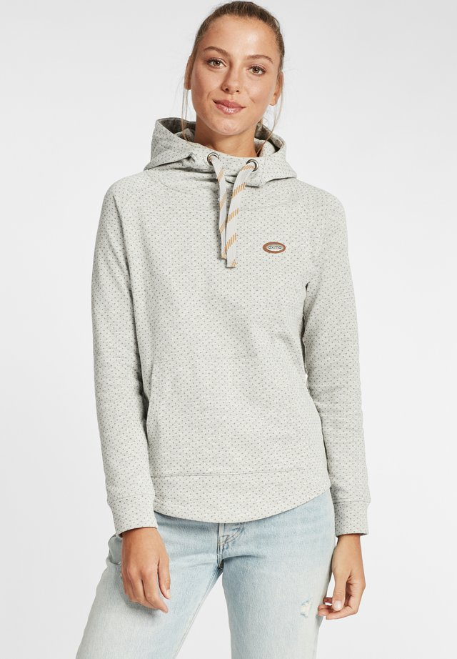 Sweat à capuche - oyster grey melange