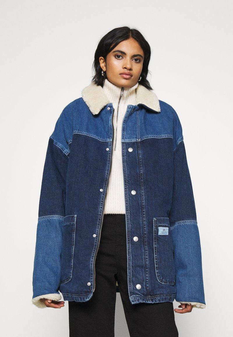 BDG Urban Outfitters - DYLAN DONKEY JACKET - Denim jacket - indigo