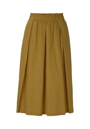 Spódnica trapezowa - golden corn