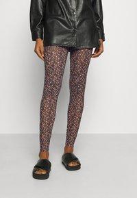 YAS - YASMILANA  - Leggings - Trousers - black - 0