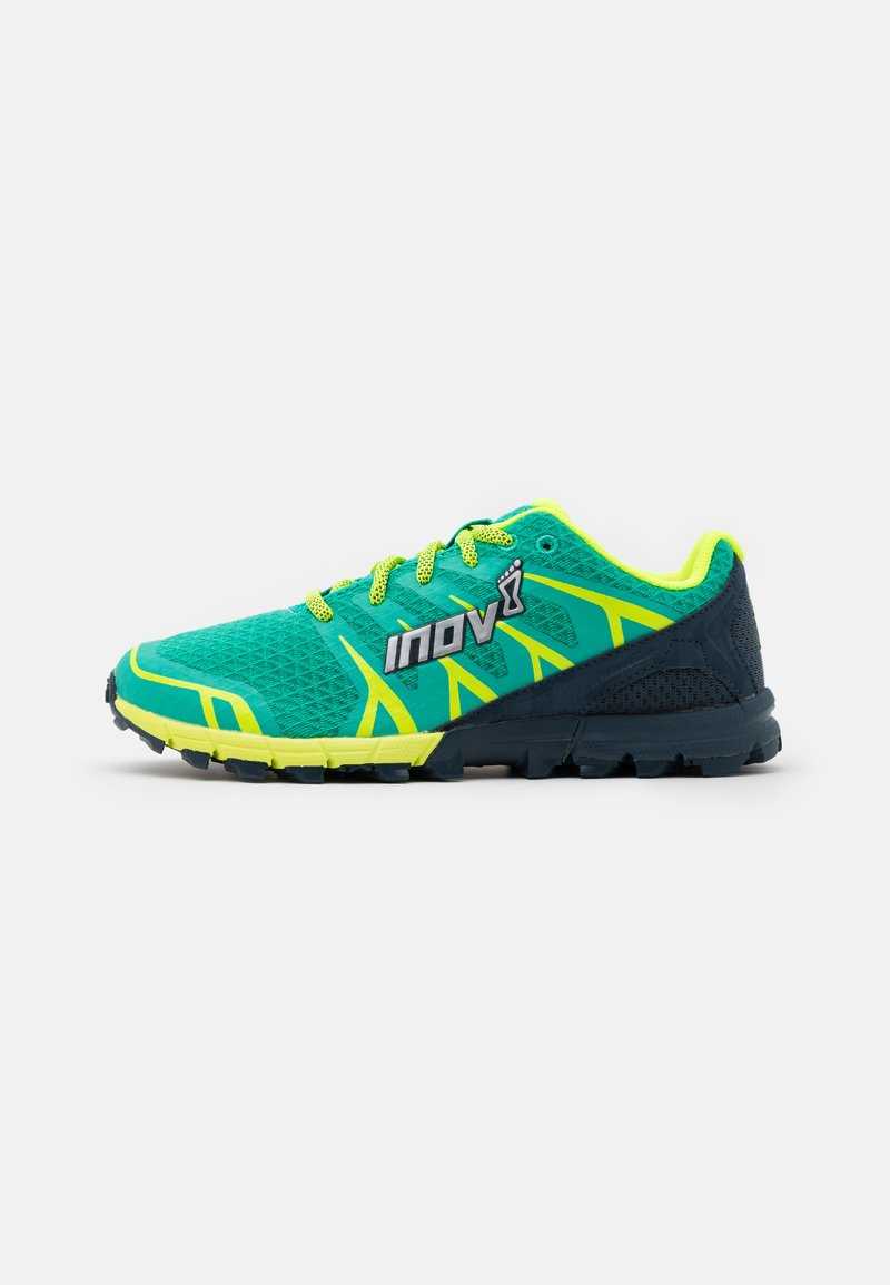 Inov-8 - TRAILTALON 235 - Trail running shoes - teal/navy/yellow