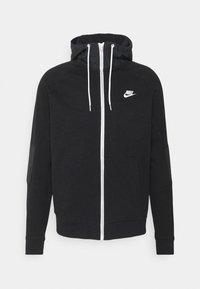 Nike Sportswear - Zip-up sweatshirt - black/ice silver/white - 5