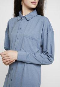 Missguided - DRESS PLAIN - Shirt dress - blue - 5