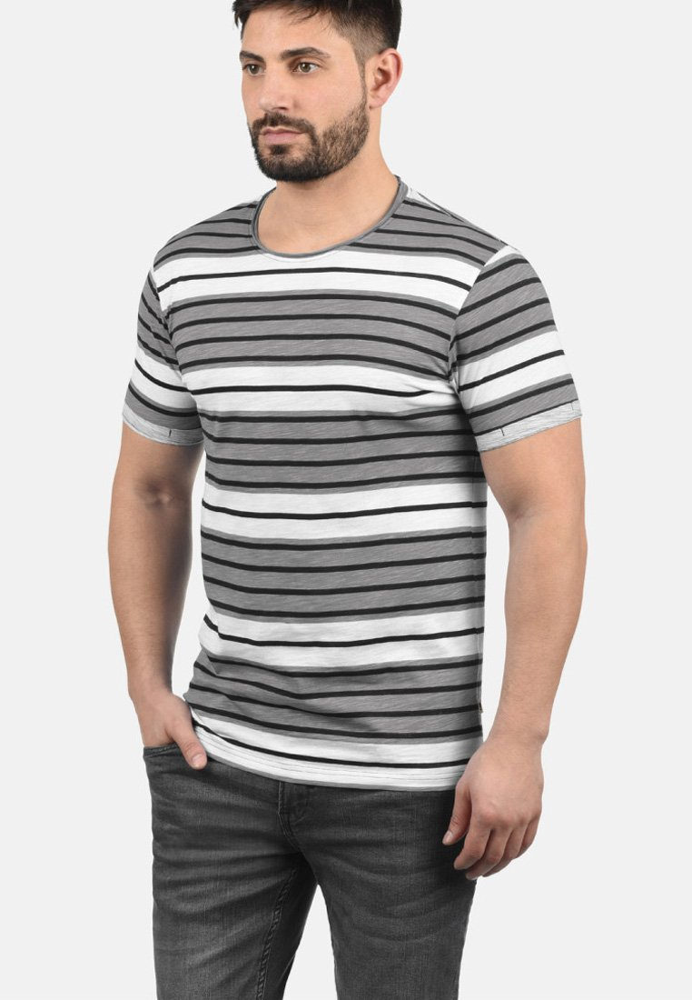 Uomo RUNDHALSSHIRT SERGEJ - T-shirt con stampa