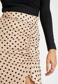 Trendyol - Pencil skirt - beige - 4
