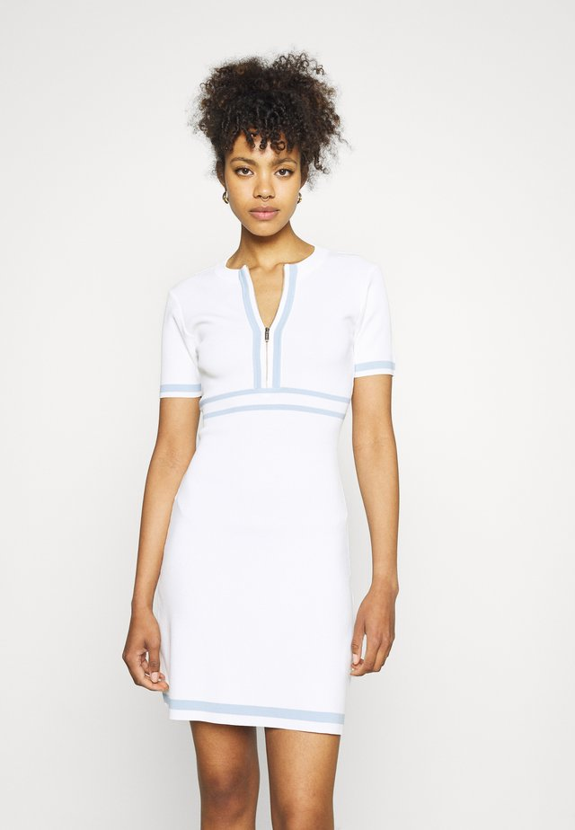 RMAYA - Strikket kjole - cashmere blue