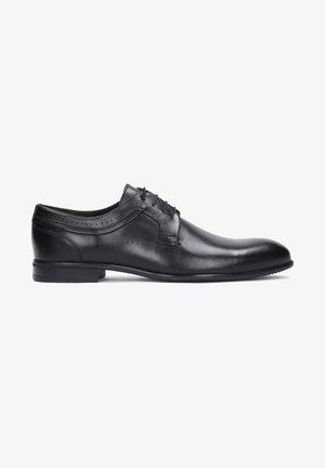 CALIX - Zapatos con cordones - black