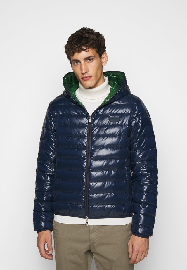 MARFAKDUE - Down jacket - blu scuro