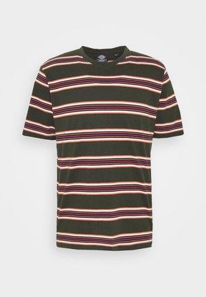 LITHIA SPRINGS - Camiseta estampada - olive green