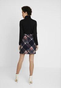 s.Oliver - KURZ - A-line skirt - navy - 2