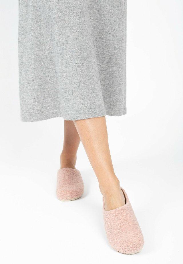 KEALA WOOL - Hjemmesko - powdery pink