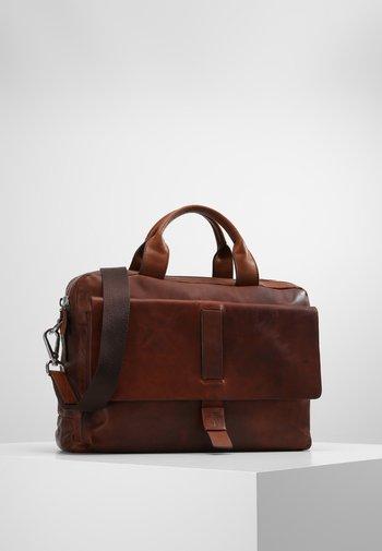 LORETO PANDION  - Briefcase - dark brown