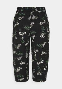 Vero Moda Petite - VMSAGA CULOTTE PANT  - Bukse - black/nellie - 1