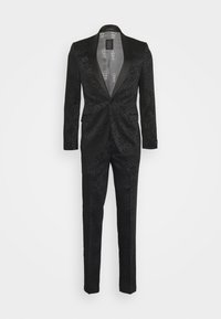 Shelby & Sons - PUXLEY TUXEDO SUIT - Completo - black - 0