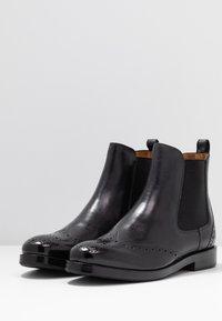 Melvin & Hamilton - AMELIE  - Ankle boots - black - 4
