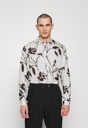 Overhemd - off white/black