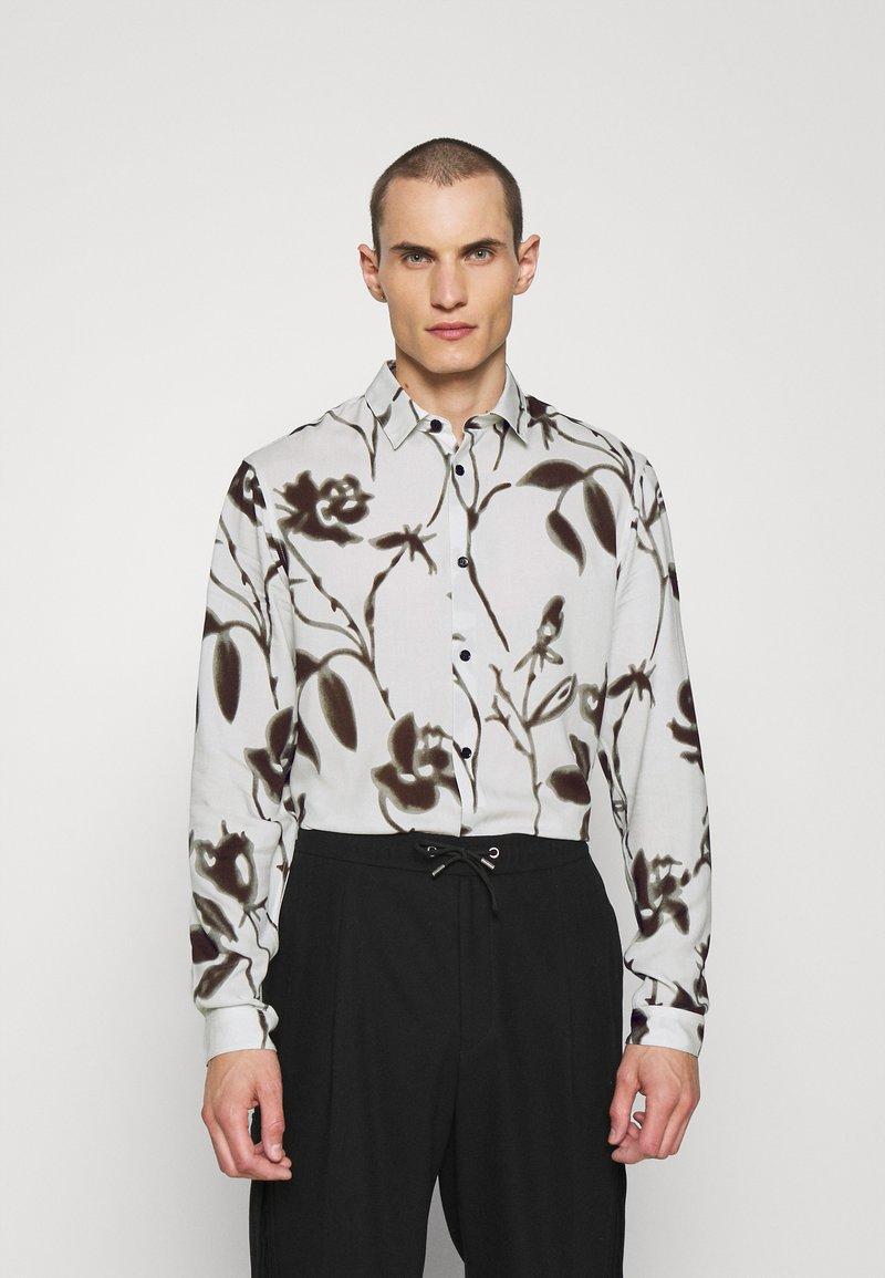 The Kooples - Overhemd - off white/black