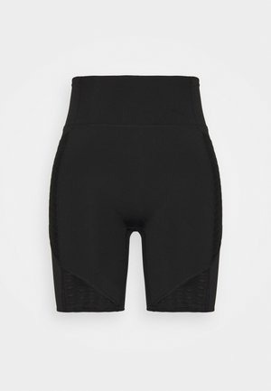 TRAIN FLAWLESS SHORT - Leggings - black