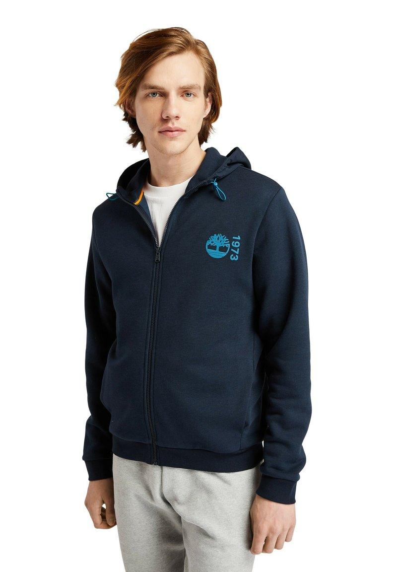 Timberland - Zip-up sweatshirt - dark sapphire