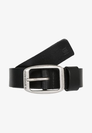 BRYN - Belt - black/antic silver