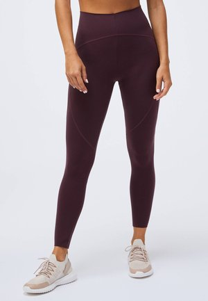 COMPRESSION - Leggings - bordeaux