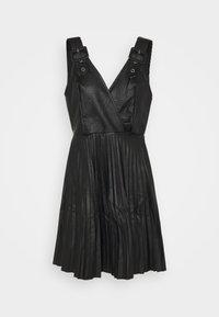 NAIROBI PLEATED DRESS - Cocktail dress / Party dress - black