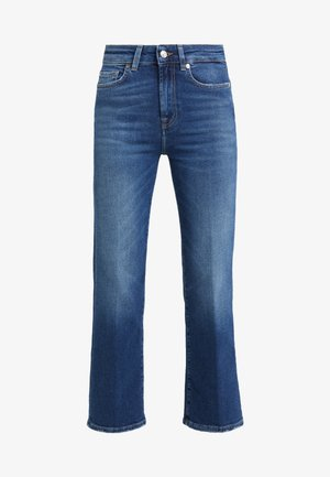 CROPPED BOOT LUXE  - Bootcut jeans - vintage pacific grove