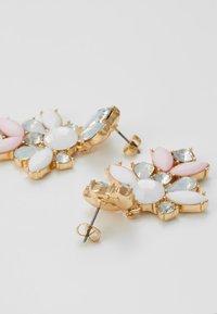 Pieces - PCJARLO EARRINGS - Earrings - gold coloured/clear/pastel - 2