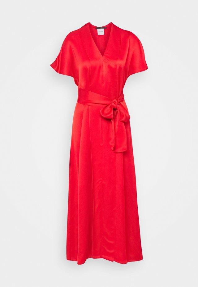 WOMENS DRESS - Koktejlové šaty/ šaty na párty - red