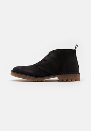 COLE - Casual lace-ups - black