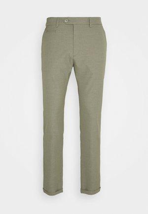 COMO LIGHT SUIT PANTS - Suit trousers - lichen green